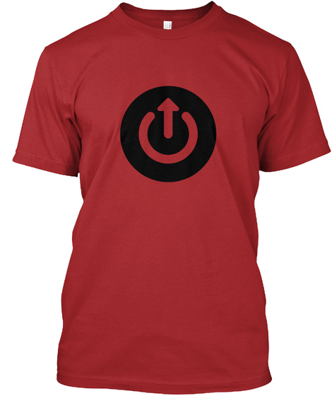 Upgrade Podcast Shirt (Euro Edition) Red T-Shirt Front