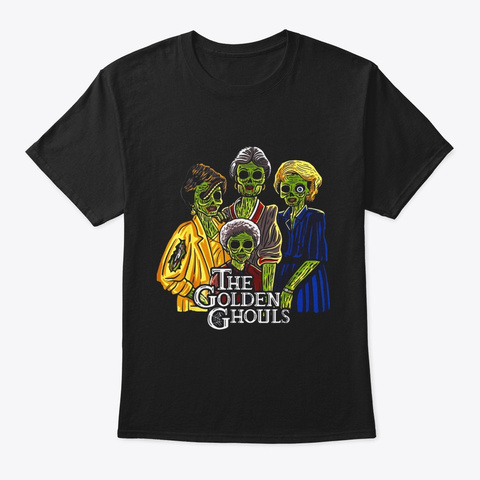 Vintage Halloween Gift For Men Women Black T-Shirt Front