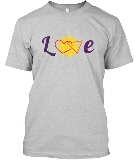 Love Light Steel Kaos Front