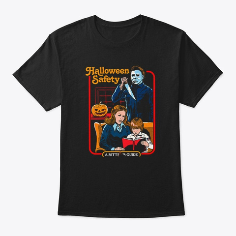halloween safety michael myers t shirt