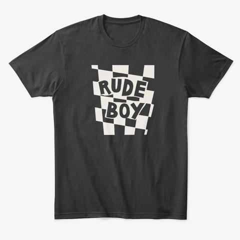 Blunt Clothing Rude Boy Black T-Shirt Front