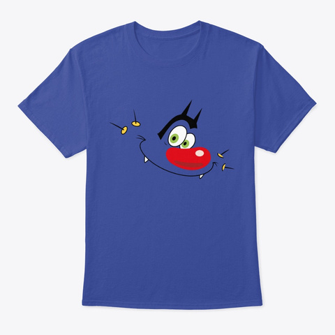 Oggy Classic  Deep Royal T-Shirt Front