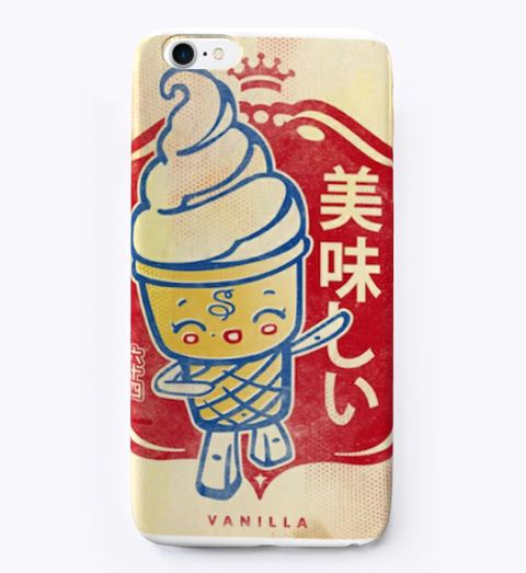 Vanilla Cone Phone Case Standard T-Shirt Front