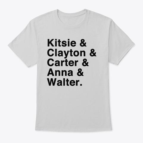 "Oddity Files ""Team""   Black Font Light Steel T-Shirt Front"