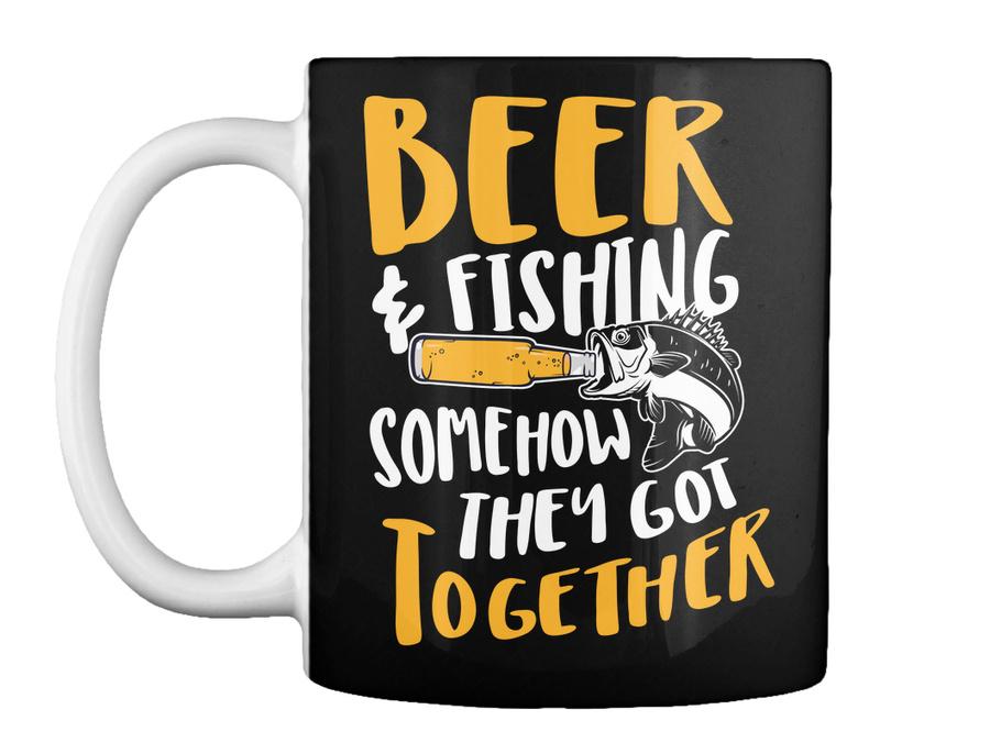 Fishing Beer And Fishing Somehow They SweatShirt