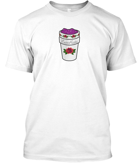 Lean Music Records ™ Hip Hop Clothin'shop White T-Shirt Front