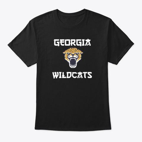 Georgia Wildcats Black T-Shirt Front