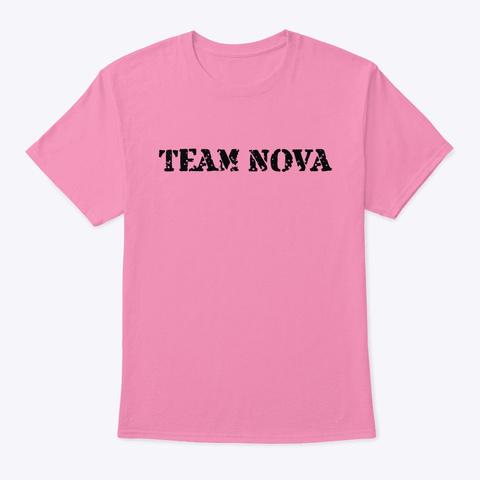 Team Nova Pink T-Shirt Front