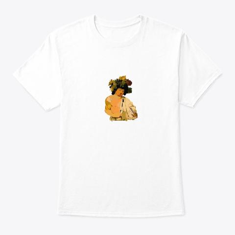 Caravaggio Harmonica T White T-Shirt Front