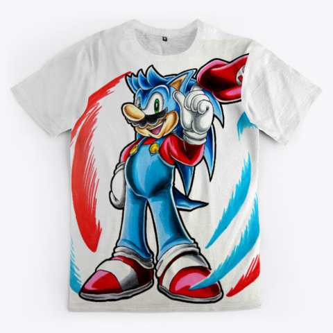Sonic + Mario Fusion Standard T-Shirt Front