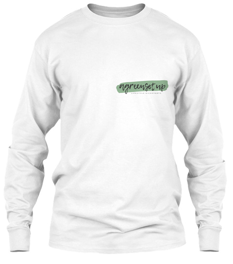 The Sailor White Long Sleeve T-Shirt Front