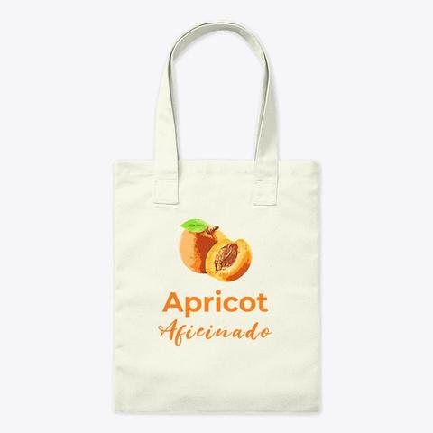 Apricot Aficionado Natural T-Shirt Front