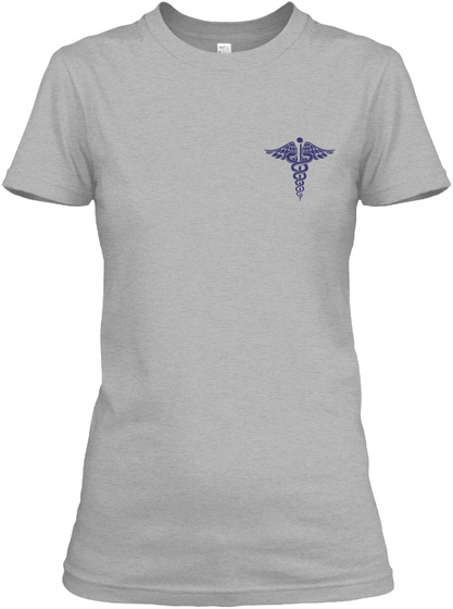 Proud Nurse Shirt Sport Grey T-Shirt Front