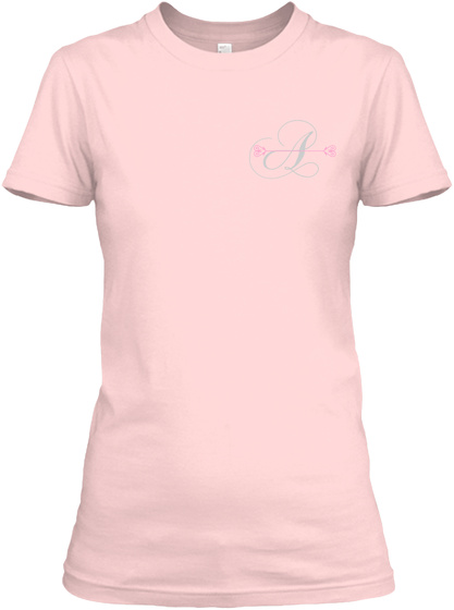 A Light Pink T-Shirt Front