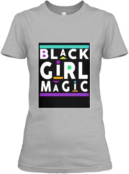 Magic Sport Grey Women's T-Shirt Front