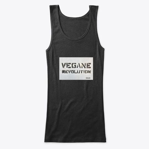 Vegane Revolution Black T-Shirt Front