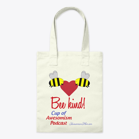 Bee Kind Natural T-Shirt Front