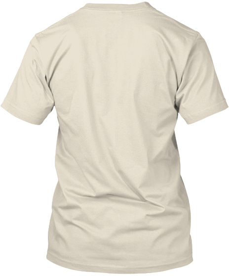 M Cream T-Shirt Back