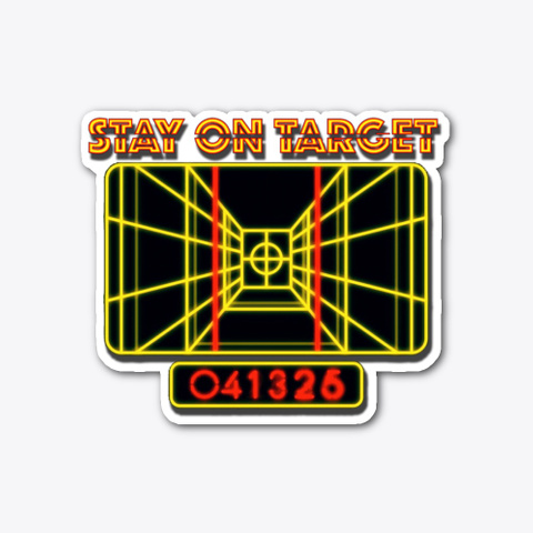 Stay On Target Standard T-Shirt Front