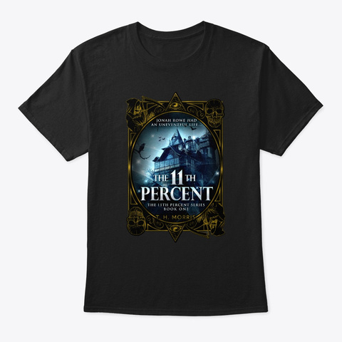 The 11th Percent Black T-Shirt Front