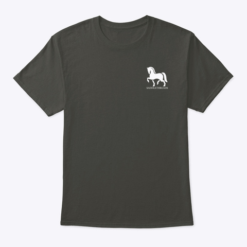 Morgan   The Show Must Go On! Smoke Gray T-Shirt Front