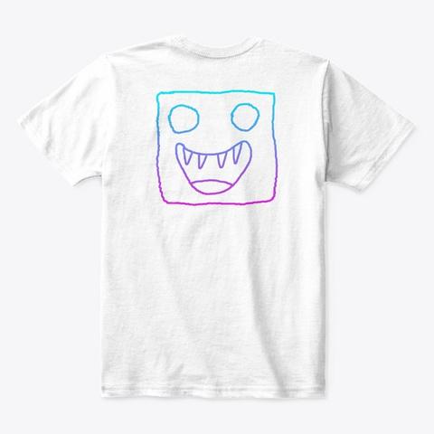 Andromeda White T-Shirt Back