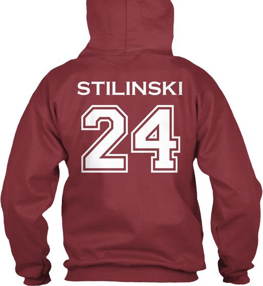 Beacon Hills Est 2011 Lacrosse Stilinski 24 Sweatshirt Back