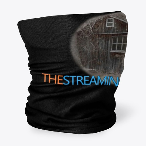 The Streaming Shack Black T-Shirt Side