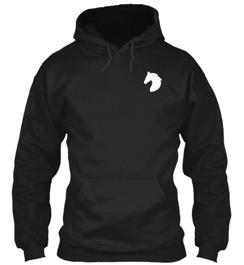I Am An Equestrian   Ending Soon! Black T-Shirt Front