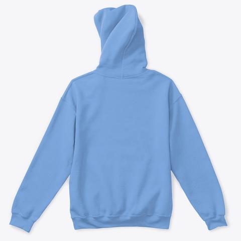 Hangry Cat (Gift For Kids) Carolina Blue T-Shirt Back