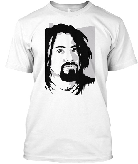 Crazy Legs Conti White T-Shirt Front