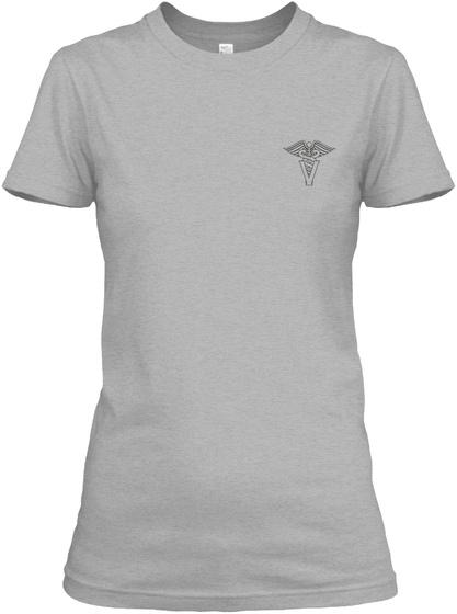 Na Sport Grey Women's T-Shirt Front