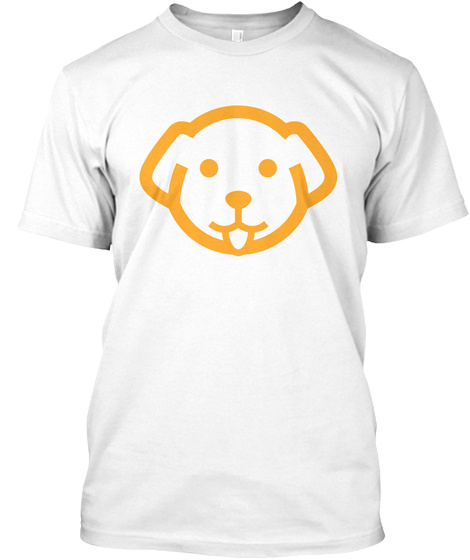 Save The Pups White T-Shirt Front