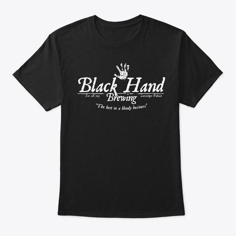 Black Hand Brewing Black T-Shirt Front