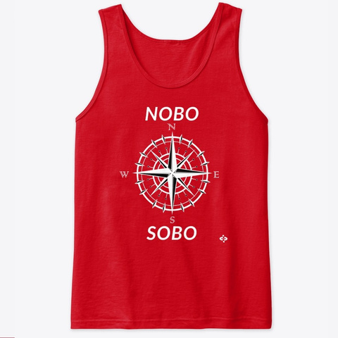 Nobo Sobo Compass T Shirt Collection Red T-Shirt Front