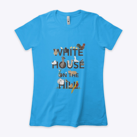 The Animals Turquoise T-Shirt Front