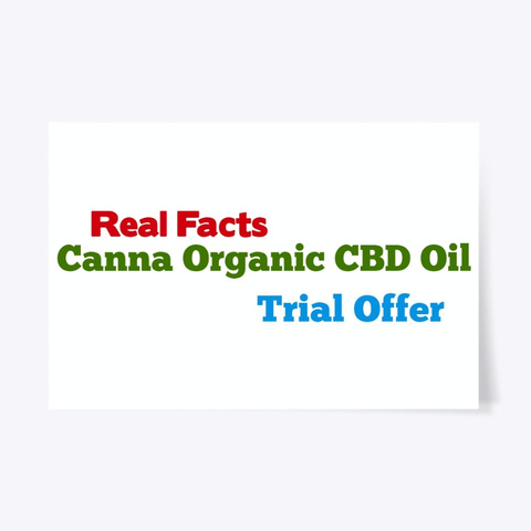 Canna Organic Cbd Oil | Official Store Standard Camiseta Front
