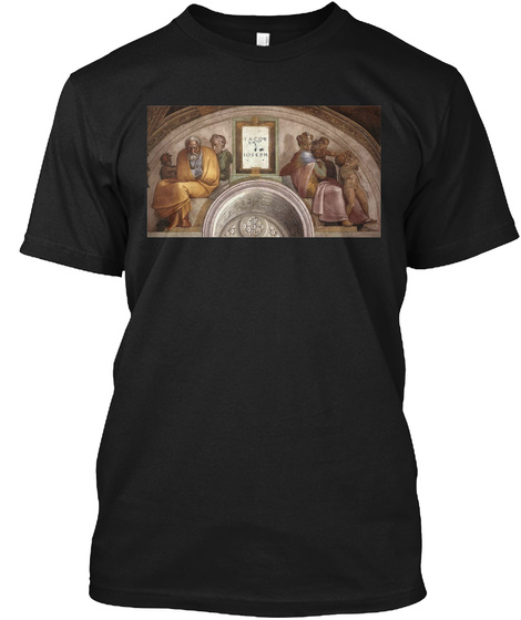 Family Of Christ Black T-Shirt Front