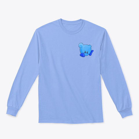 Ultimate Kirby Tee Light Blue T-Shirt Front