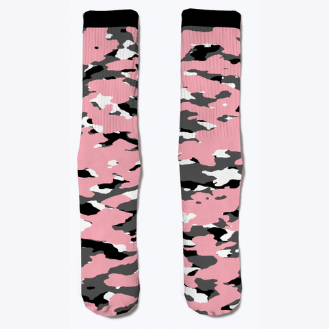 Military Camouflage   Pink Ii Standard Camiseta Front