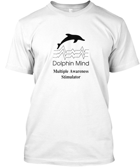 Dolphin Mind Research Lab T Shirts White T-Shirt Front