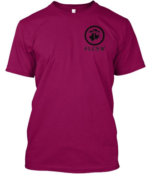 F L C S W Cardinal T-Shirt Front