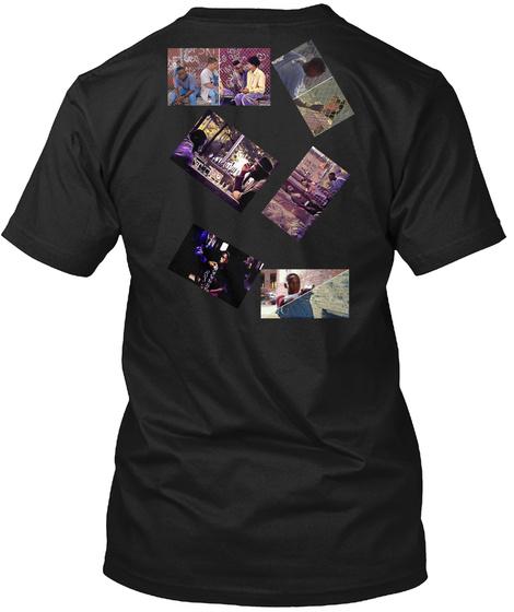 Fresh The Movie T Shirt  Black T-Shirt Back