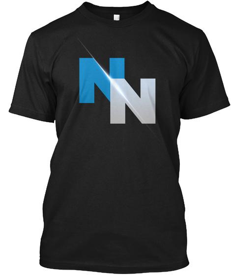 Nn Black T-Shirt Front