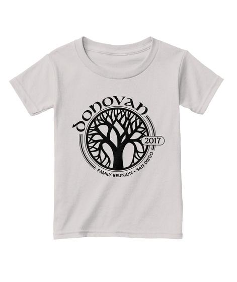 Donovan 2017 Family Reunion San Diego Sport Grey  T-Shirt Front