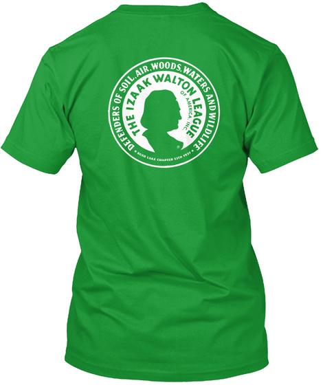 The Izaak Walton League Kelly Green T-Shirt Back