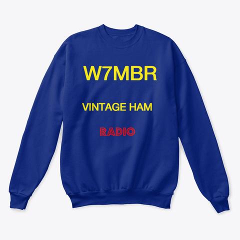 Ham Radio Tshirt Deep Royal  T-Shirt Front