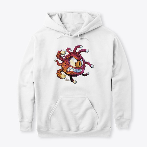 Beholder   Facing Right Arctic White Sweatshirt Front
