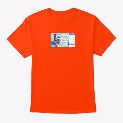 Max Keto Boost Reviews Orange T-Shirt Front