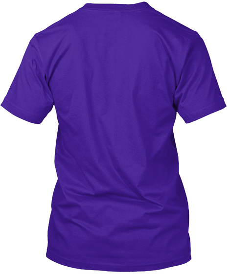 Take A Treat... Team Purple T-Shirt Back